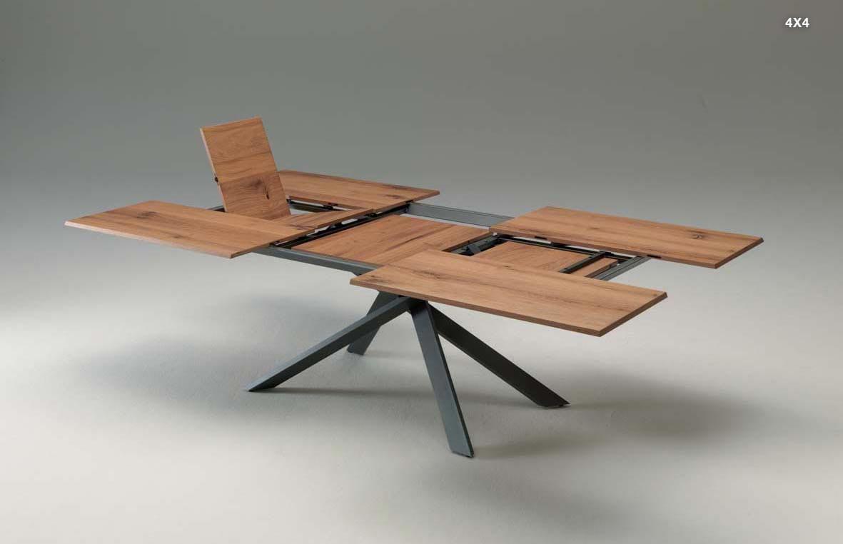 ozzio - table extensible - 4X4 - 73 - 74 Savoie - Haute Savoie