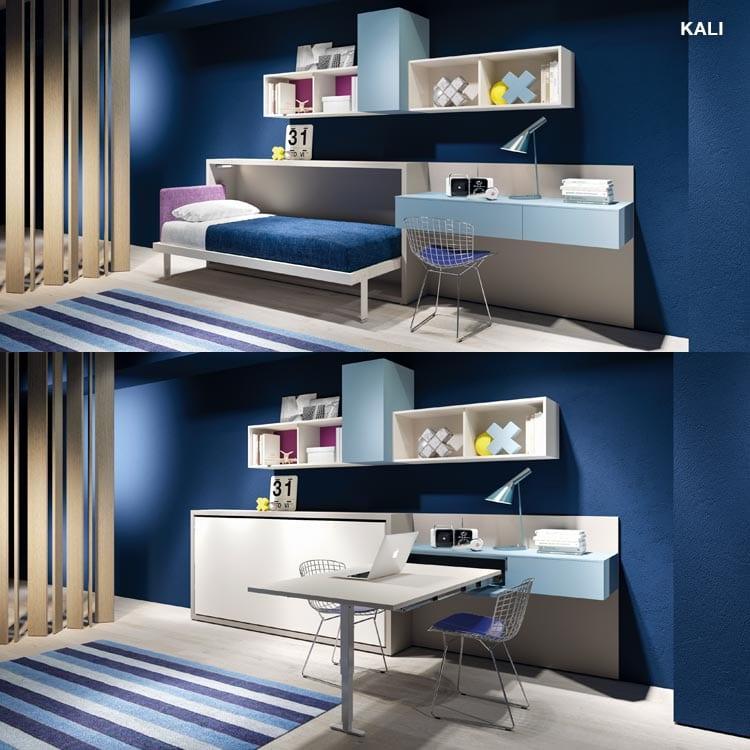 clei-lit rabattable-Kali-console rétractable App-solution gain de place-savoie, haute savoie