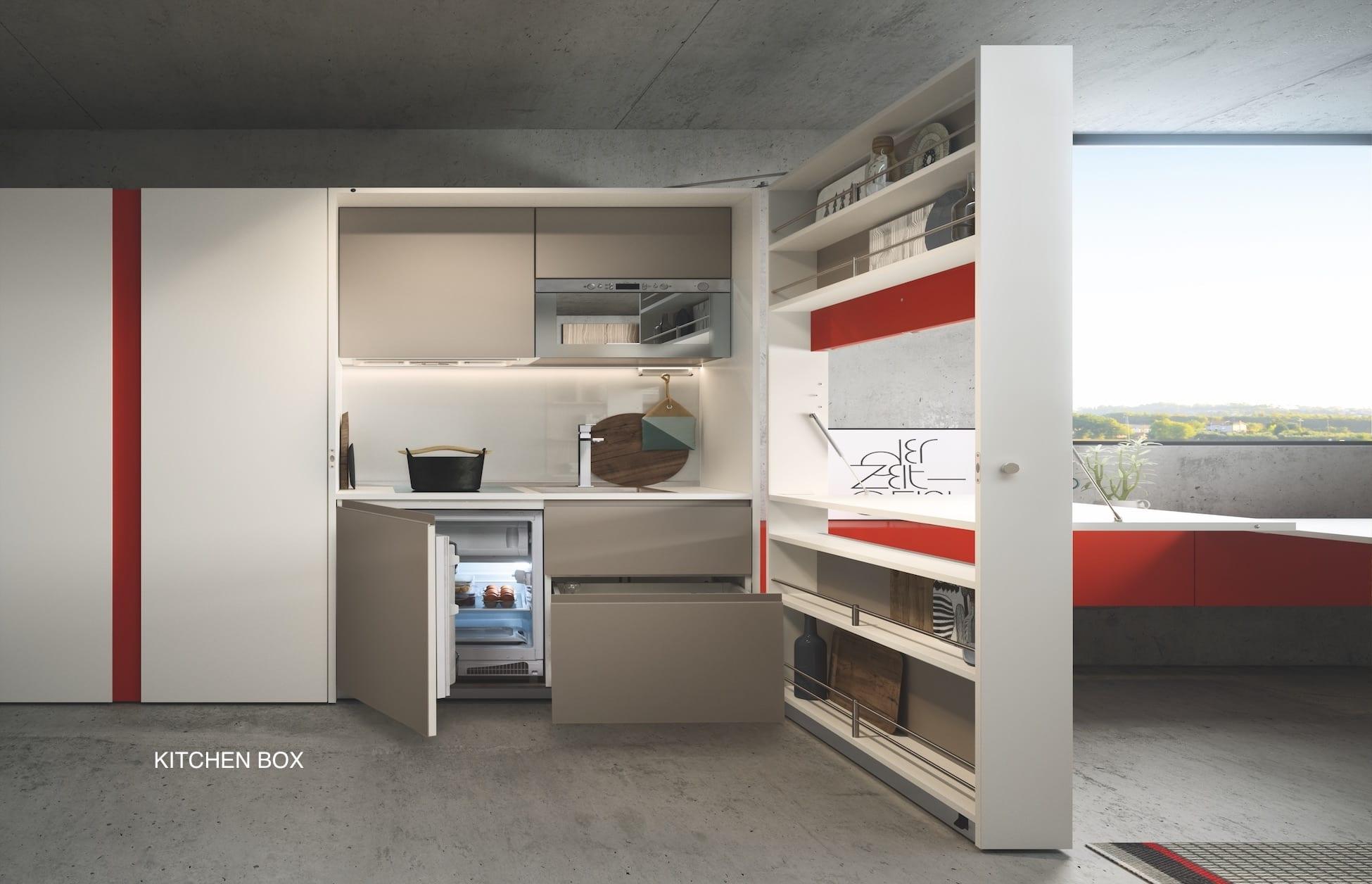 clei-kit cuisine escamotable-kitchenbox- stations ski-résidences de vacances-savoir- haute savoie