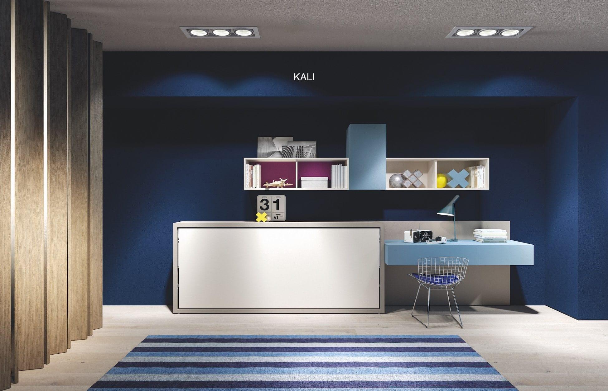 clei-lit rabattable Kali-console rétractable App-agencement chambre enfants-savoie-haute savoie