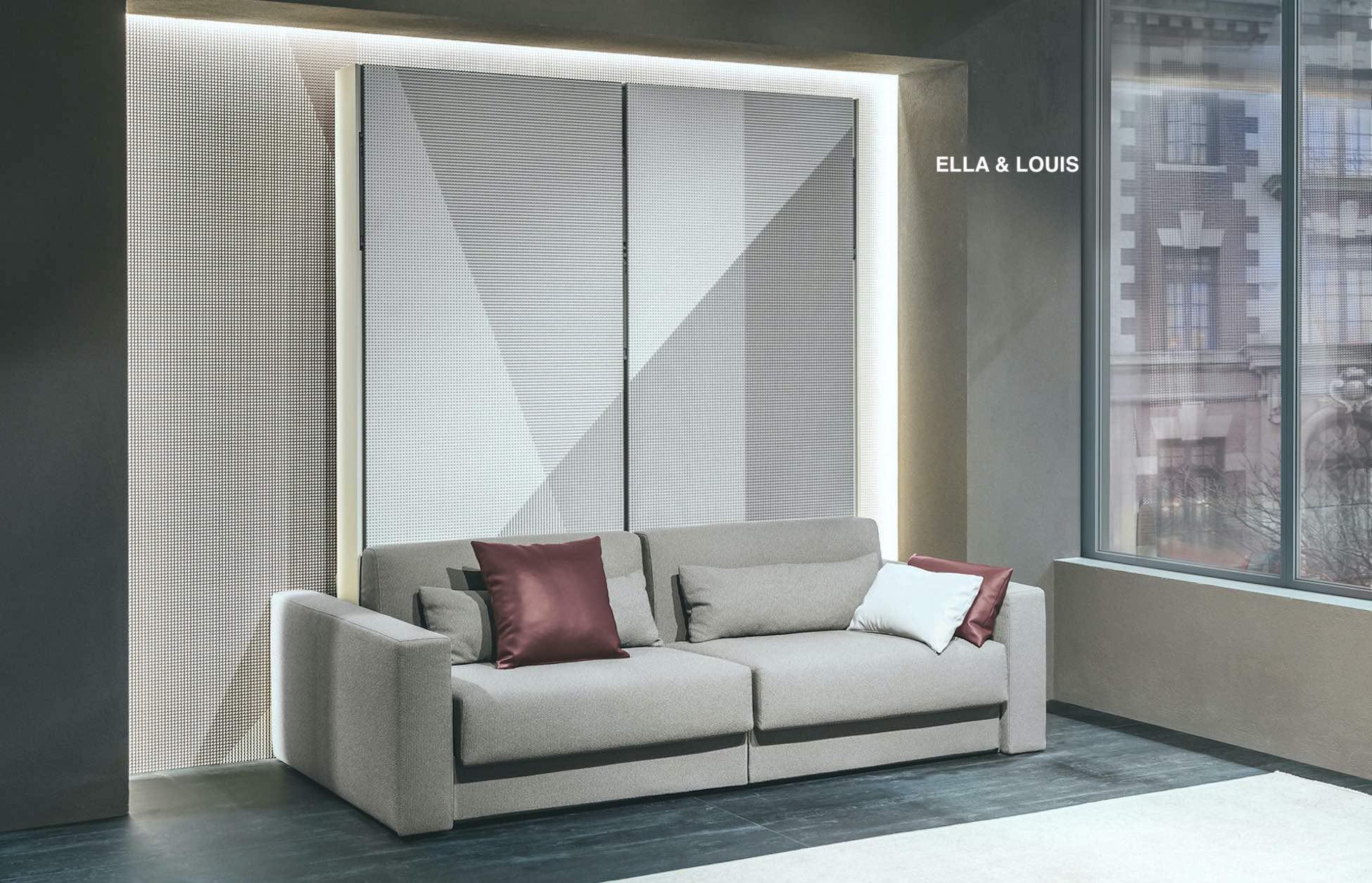 clei-lit rabattable avec canapé-Ella et Louis-lit double séparable deux lits simples-savoie-haute savoie